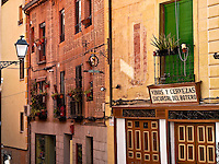 Rustc houses and  and tavern, Toledo, Spain