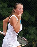 17-08-11, Tennis, Amstelveen, Nationale Tennis Kampioenschappen, NTK, Nicole Thijssen plaatst zich voor de kwartfinale