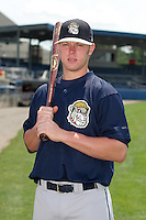 Mahoning Valley Scrappers Kelly Edmundson poses for a photo before a NY-Penn League game at Dwyer Stadium on July 30, 2006 in Batavia, New York.  (Mike Janes/Four Seam Images)