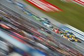 Monster Energy NASCAR Cup Series<br /> Alabama 500<br /> Talladega Superspeedway<br /> Talladega, AL USA<br /> Sunday 15 October 2017<br /> Matt Kenseth, Joe Gibbs Racing, DEWALT Flexvolt Toyota Camry and Kevin Harvick, Stewart-Haas Racing, Busch Light Outdoors Ford Fusion<br /> World Copyright: Nigel Kinrade<br /> LAT Images
