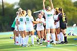 DENTON,TEXAS, SEPTEMBER 3: Mean Green Soccer v Baylor at NT Soccer Field on September 3, 2021  in Denton Texas. Photo: Rick Yeatts