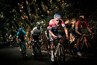 Dutch National Champion Mathieu Van der Poel (NED/Alpecin-Fenix)  setting the pace up the Hagaard (Overijse)<br /> <br /> 60th De Brabantse Pijl 2020 - La Flèche Brabançonne (1.Pro)<br /> 1 day race from Leuven to Overijse (BEL/197km)<br /> <br /> ©kramon