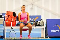 Amstelveen, Netherlands, 16  December, 2020, National Tennis Center, NTC, NK Indoor, National  Indoor Tennis Championships, : Lesley Pattinama-Kerkhove  (NED) <br /> Photo: Henk Koster/tennisimages.com