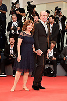 U.S. actor Richard Jenkins, right, poses with his wife Sharon R. Friedrick on the red carpet for the screening of the movie 'The Shape Of Water' at the 74th Venice Film Festival, Venice Lido, August 31, 2017. <br /> UPDATE IMAGES PRESS/Marilla Sicilia<br /> <br /> *** ONLY FRANCE AND GERMANY SALES ***