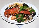Lobster Platter, Dante Restaurant, Florence, Tuscany, Italy