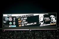 SÃO PAULO, SP 24.04.2019: CORINTHIANS-CHAPECOENSE - Publico e renda. Corinthians e Chapecoense durante o jogo de volta, válido pela quarta rodada da Copa do Brasil na Arena Corinthians, zona leste da capital, na noite desta quarta-feira (24). (Foto: Ale Frata/Codigo19)