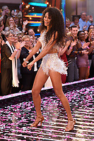 """Vick Hope<br /> at the launch of """"Strictly Come Dancing"""" 2018, BBC Broadcasting House, London<br /> <br /> ©Ash Knotek  D3426  27/08/2018"""
