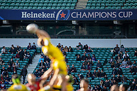 22nd May 2021; Twickenham, London, England; European Rugby Champions Cup Final, La Rochelle versus Toulouse; Fans in the stands