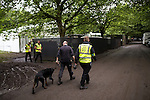 © Joel Goodman - 07973 332324 . .  12/06/2016 . Manchester , UK . Security at the Parklife music festival at Heaton Park in Manchester as GMP extend an appeal to find Rebecca Dacre , 26 from Ulverston , who went missing during the festival last night (11th June 2016) . Photo credit : Joel Goodman