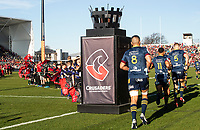 The Highlanders run out for the 2020 Super Rugby match between the Crusaders and Highlanders at Orangetheory Stadium in Christchurch, New Zealand on Saturday, 9 August 2020. Photo: Joe Johnson / lintottphoto.co.nz
