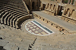 view from north theatre in Jerash