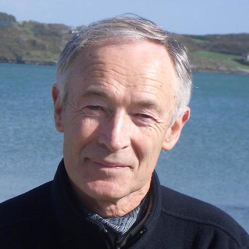 Tim Severin at home in his beloved West Cork
