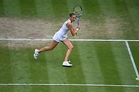 8th July 2021, Wimbledon, SW London, England; 2021 Wimbledon Championships, quarterfinals; Karolina Pliskova (Tch)
