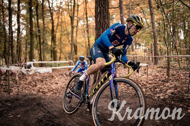 Cristian Cominelli (ITA)<br /> <br /> UEC Cyclocross European Championships 2020 - 's-Hertogenbosch (NED)<br /> <br /> Elite MEN<br /> <br /> ©kramon