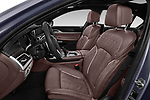 Front seat view of a 2018 BMW 7 Series M760 Li 4 Door Sedan front seat car photos