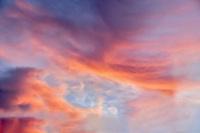 Sunrise clouds over wilsonville