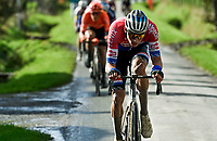 Mathieu Van der Poel (NED/Alpecin-Fenix) in the lead group over the Plugstreets<br /> <br /> 82nd Gent-Wevelgem in Flanders Fields 2020 (1.UWT)<br /> 1 day race from Ieper to Wevelgem (232km)<br /> <br /> ©kramon