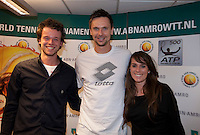 11-02-11Tennis, Rotterdam, ABNAMROWTT, Meat and Great.