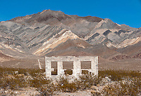 Ruins of Carrera, an old mining town in Nevada.
