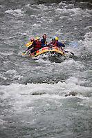 Europe/France/Provence-Alpes-Côtes d'Azur/06/Alpes-Maritimes/Alpes-Maritimes/Arrière Pays Niçois/Breil-sur-Roya: Rafting dans la vallée de la Roya