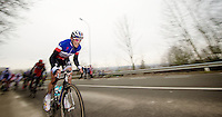 Kuurne-Brussel-Kuurne 2012<br /> Sylvain Chavanel was pretty agressive throughout the race