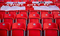 19th December 2020; Bet365 Stadium, Stoke, Staffordshire, England; English Football League Championship Football, Stoke City versus Blackburn Rovers; Empty seats at the Bet365 Stadium as Stoke are still in Tier 3 lockdown