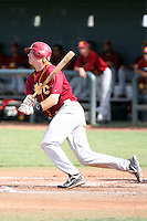 Karsten Strieby #34 of the Arizona Western College Matadors plays against the Chandler-Gilbert Community College Geckos on April 23, 2011 in Gilbert, Arizona..Photo by:  Bill Mitchell/Four Seam Images.