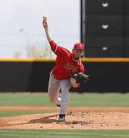 Kyle Tyler - Los Angeles Angels 2021 spring training (Bill Mitchell)