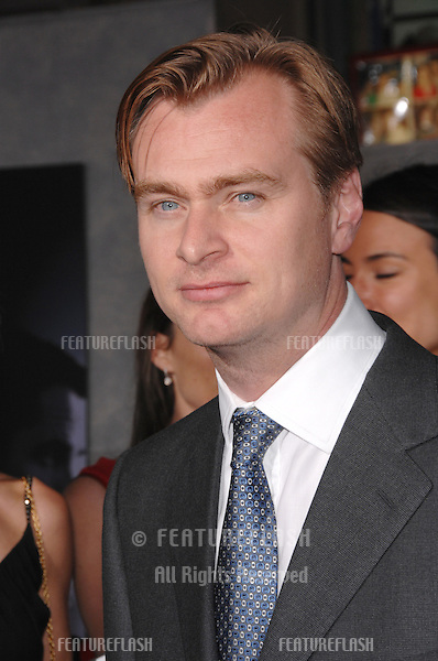 """Director CHRISTOPHER NOLAN at the world premiere, in Hollywood, of his new movie """"The Prestige""""..October 17, 2006  Los Angeles, CA.Picture: Paul Smith / Featureflash"""