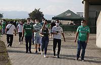 PALMIRA - COLOMBIA, 31-07-2021: Deportivo Cali y Atlético Bucaramanga en partido por la fecha 3 de la Liga BetPlay DIMAYOR II 2021 jugado en el estadio Deportivo Cali de la ciudad de Palmira. / Deportivo Cali and Atletico Bucaramanga in match for the date 3 as part of BetPlay DIMAYOR League II 2021 played at Deportivo Cali stadium in Palmira city.  Photo: VizzorImage / Samir Rojas / Cont