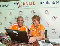 Etten-Leur, The Netherlands, August 27, 2016,  TC Etten, NVK, Match Controll<br /> Photo: Tennisimages/Henk Koster