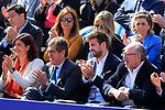 24th April 2019, Real Club de Tenis, Barcelona, Spain; ATP 500, Barcelona Open Banc Sabadell, day 3; picture show Gerard Pique enjoy game Rafael Nadal (ESP) vs Leonardo ayer (ARG)