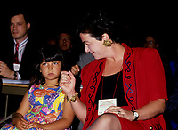 File Photo circa 1993 - Sheila Copps and her daughter (L)