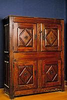 Europe/France/Auvergne/15/Cantal/Saint Flour/Musée de la Haute-Auvergne: Détail quatre portes Louis XIII
