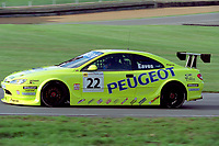 Final round of the 2001 British Touring Car Championship at Brands Hatch. #22 Dan Eaves (GBR). Peugeot Sport UK. Peugeot 406 Coupé.
