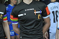 illustration picture of the rainbow colors to support the holebi community during a female soccer game between  AA Gent Ladies and Club Brugge YLA on the 16th matchday of the 2020 - 2021 season of Belgian Scooore Womens Super League , saturday 13 th of March 2020  in Oostakker , Belgium . PHOTO SPORTPIX.BE | SPP | STIJN AUDOOREN