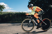 6th October 2021 Womens Cycling Tour, Stage 3. Individual Time Trial; Atherstone to Atherstone. Marta Bastianelli.
