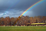 Rainbow over the Sheep River