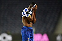 13th February 2021; Dragao Stadium, Porto, Portugal; Portuguese Championship Football, FC Porto versus Boa Vista; Zaidu Sanusi of FC Porto frustrated after the match