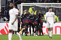 JOIE - 11 TIMO WERNER (LEI) - 22 NORDI MUKIELE (LEI)<br /> Lione 10-12-2019 <br /> Lyon vs Leipzig <br /> Champions League 2019/2020<br /> Photo Anthony Bibard / Panoramic / Insidefoto <br /> Italy Only