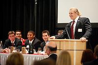 STANFORD, CA - DECEMBER 5: Stanford Football team banquet at the Arrillaga Alumni Center, December 5, 2010 in Stanford, California.