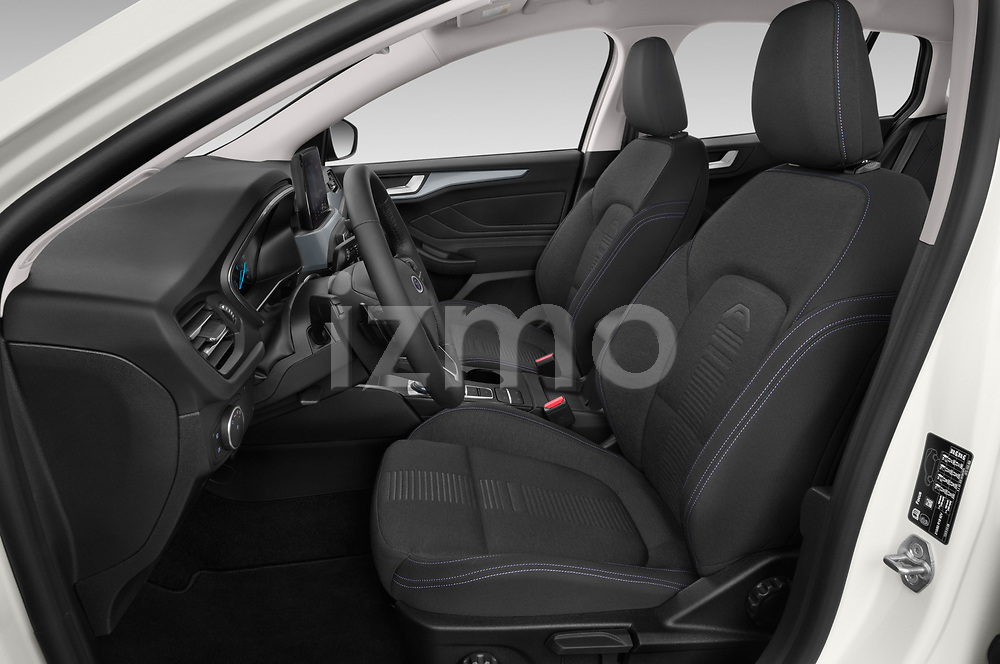 Front seat view of a 2019 Ford Focus-Clipper Active-Business 5 Door Wagon front seat car photos