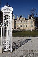 Europe/France/Aquitaine/33/Gironde/Pauillac: château Pichon Longueville Comtesse de Lalande (AOC Pauillac) [Non destiné à un usage publicitaire - Not intended for an advertising use]