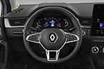 Car pictures of steering wheel view of a 2021 Renault Captur Intense 5 Door SUV Steering Wheel