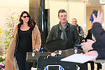 Nick Carter, Feb 9, 2016 : Nick Carter arrives at Narita Airport, Japan. The Backstreet Boys member is visiting Japan to promote his solo album All American which goes on sale on February 10th in Japan.<br /> The 36 year-old singer will also be appearing at an in-store event in Japan for the first time in 20 years. (Photo by AFLO)