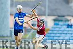 Colum Harty Causeway in action against Killian Wolff St Brendans during the Senior Kerry County Hurling Semi Finals between Causeway v Brendans at Austin Stack park on Saturday last.