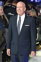 "Bruce Willis<br /> arriving for the ""Glass"" premiere at the Curzon Mayfair, London<br /> <br /> ©Ash Knotek  D3470  09/01/2019"