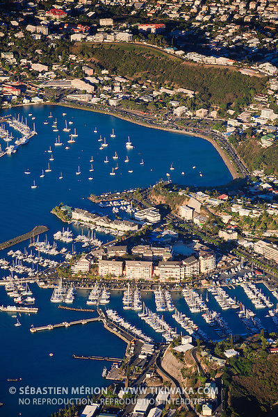Marinas de Port Plaisance et baie de l'Orphelinat, Nouméa, Nouvelle-Calédonie