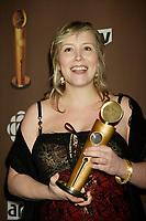 Montreal (Qc) CANADA - March 29 2009 - Jutras award (for Quebec Cinema)<br />  : Isabelle Blais, meilleure actrice (Best actress) , Bordeline