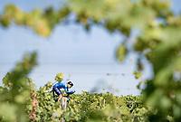 Alejandro Valverde (ESP/Movistar)<br /> <br /> Stage 20 (ITT) from Libourne to Saint-Émilion (30.8km)<br /> 108th Tour de France 2021 (2.UWT)<br /> <br /> ©kramon
